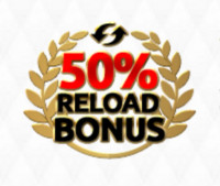 50 procent reload bonus