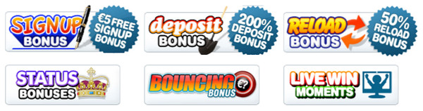 bonussen en acties bij bingocams